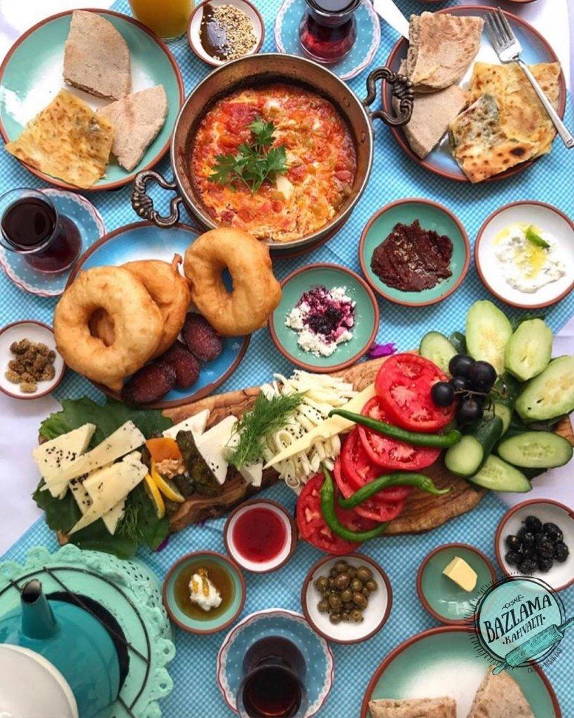 Bazlama Kahvaltı Çeşme   Çeşme Kahvaltı Yerleri 20   Cesmebook.com